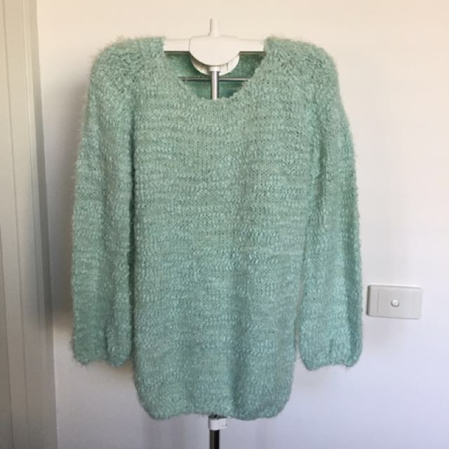 BRAND NEW Green Sweater - Stretchable