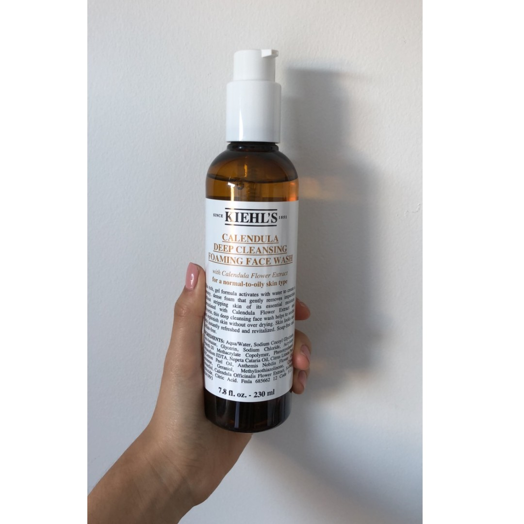 BRAND NEW: Kiehl's Calendula Deep Cleansing Foaming Face Wash