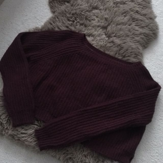 Brandy Melville Cropped Knit