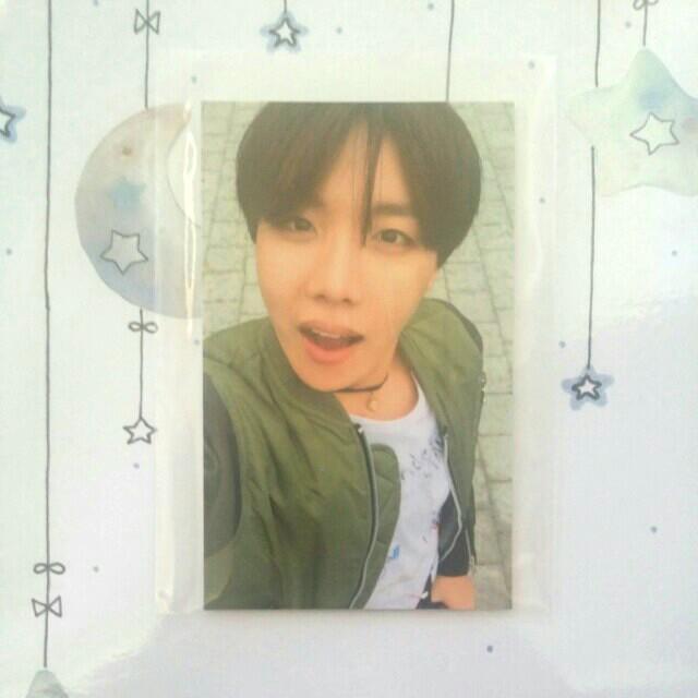 BTS HHYH J hope Photocard