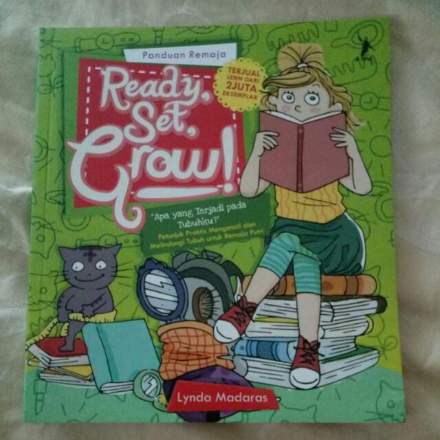 Buku panduan remaja ready set grow