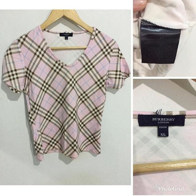 Burberry  xl on tag best fit s-m