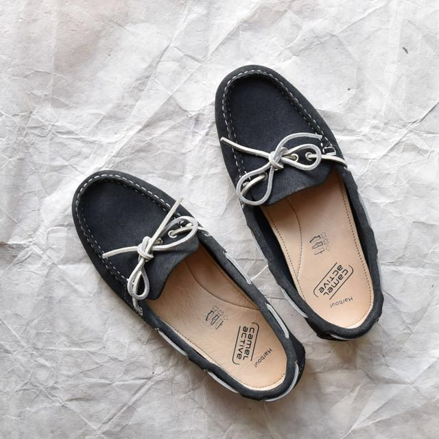 Camel Active dark blue boat shoes size 36-37, Women's Fashion, Shoes on  Carousell
