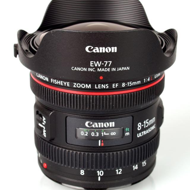 Canon 8-15mm L Lens