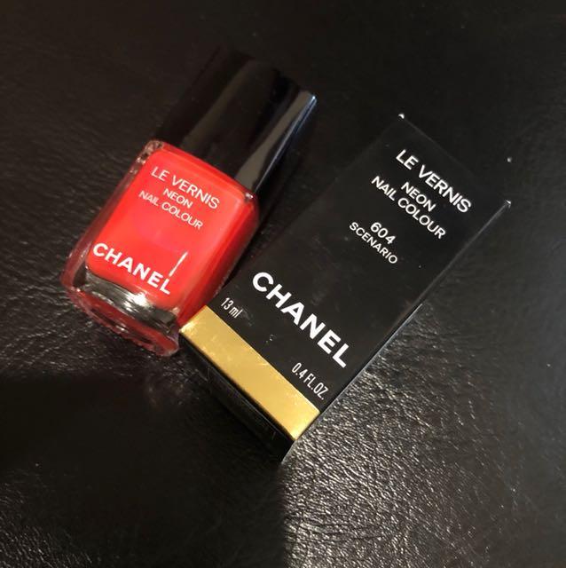 Chanel 2018新色指甲油#604