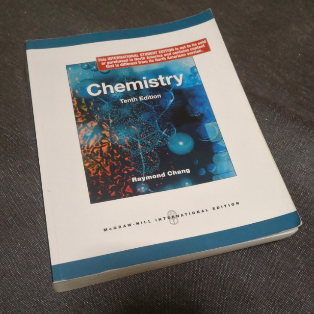 Chemistry Tenth Edition Raymond Chang Books Stationery
