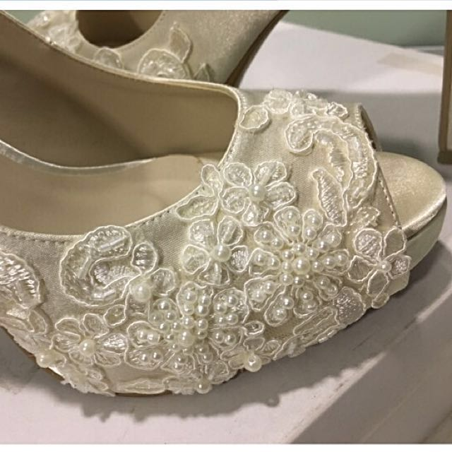 01fd713d479 Christy Ng Wedding Shoe (Size  37) - 4inch