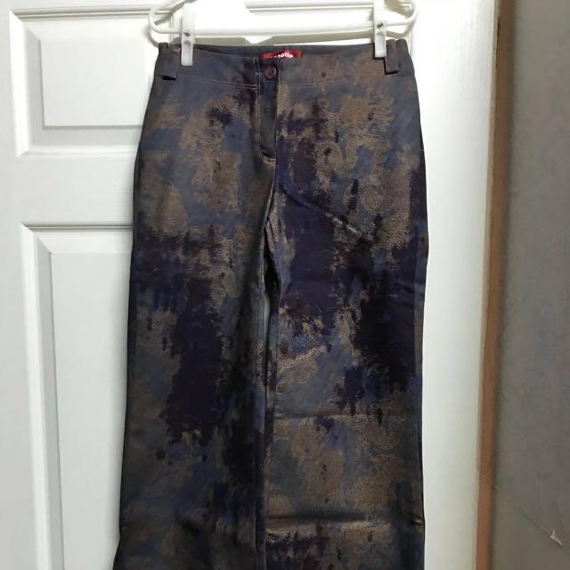 專櫃品牌cocotte寬版褲