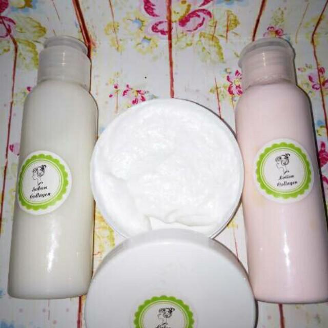 Collagen+lulur whitening