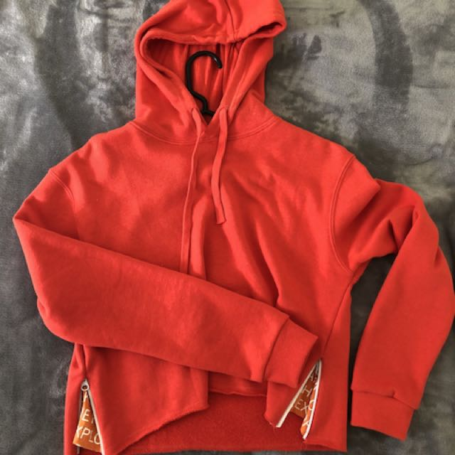 Cropped Hoody