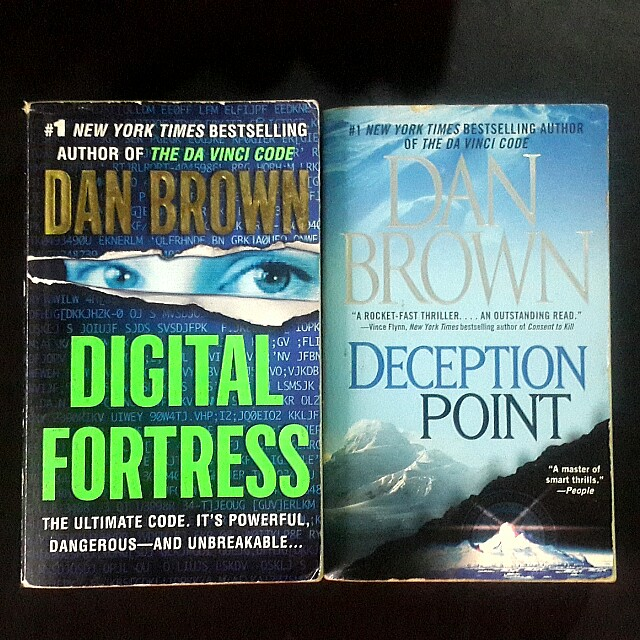 Dan Brown books (bundle) on Carousell