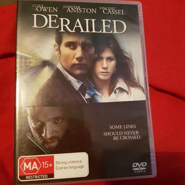 Derailed DVD