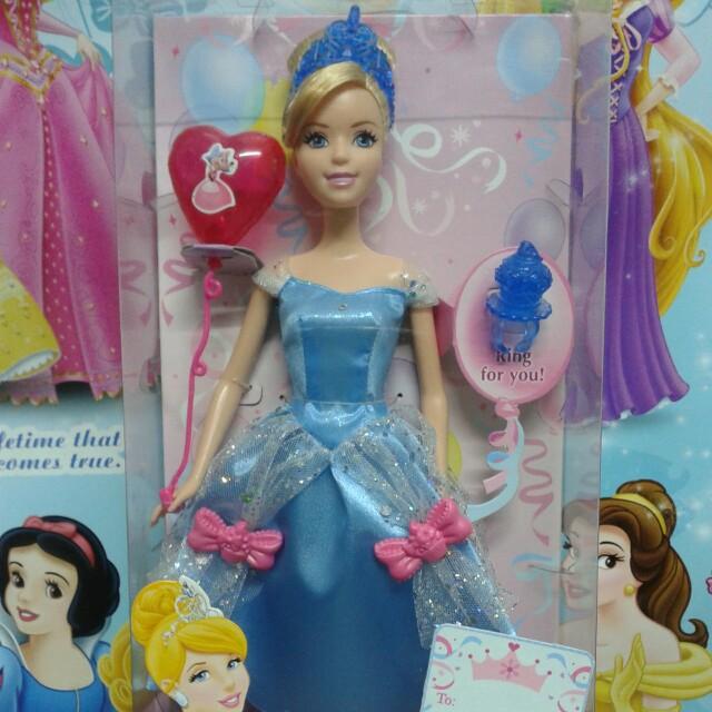 Barbie Disney Princess Cinderella
