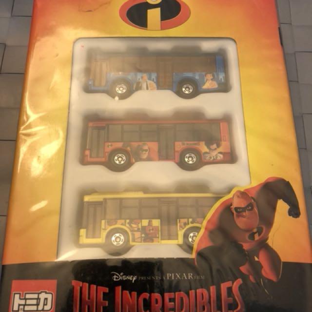 Disney tomica the incredibles 超人特工隊