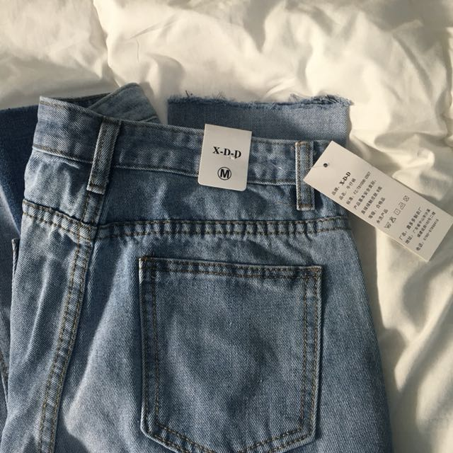 double block jeans