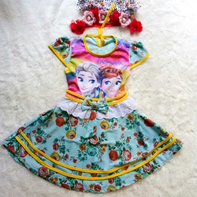 Dress frozen 2-3th