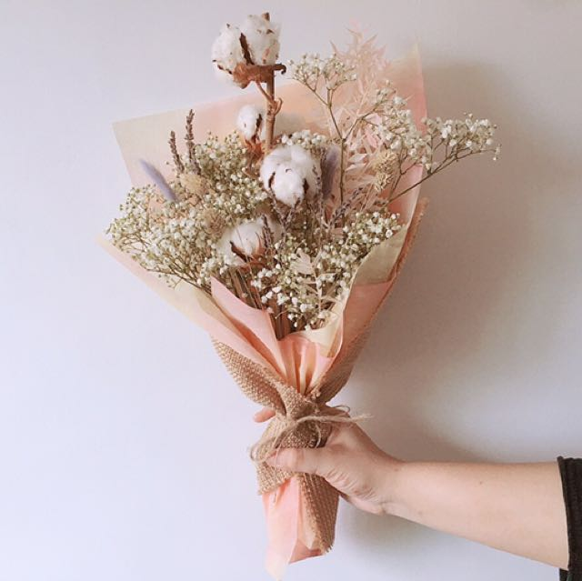 Dry Flower Bouquet - Valentine\'s Day Special, Gardening on Carousell