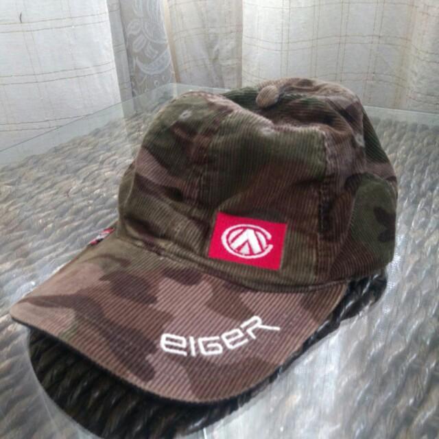 Eiger camouflage cap
