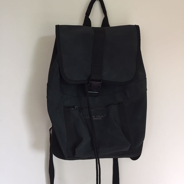 Ellen Tracy Faux Leather Backpack