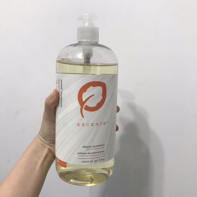 🧚🏻♀️出清🧚🏻♀️escents 大瓶 勇者無懼 洗髮精1000ml