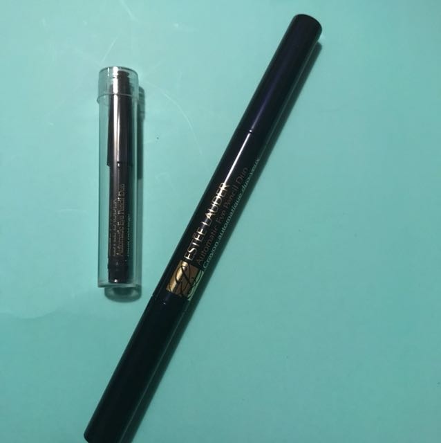 Estée Lauder automatic eye pencil Duo with smudged and refill