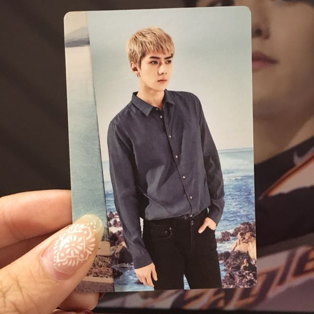 EXO SEHUN 2017 SEASON GREETING PHOTOCARD