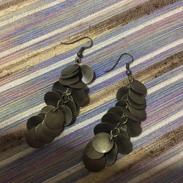 Fashion Earrings, Bronze