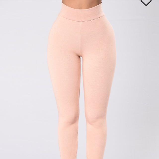 fashion nova leggings pink