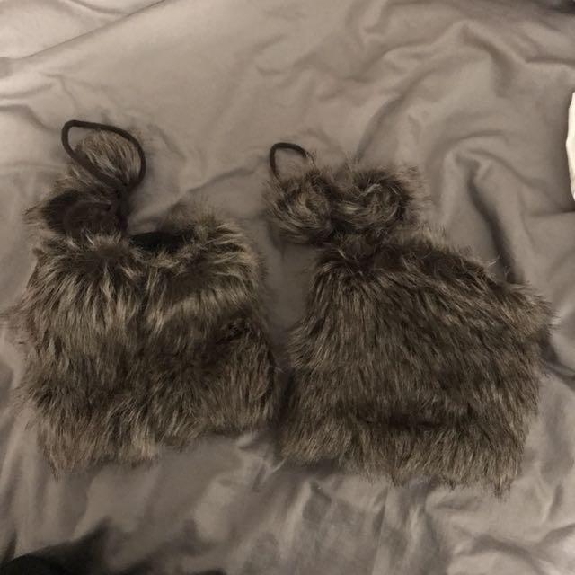 Fleece lined Boot Covers/ Leg Warmers
