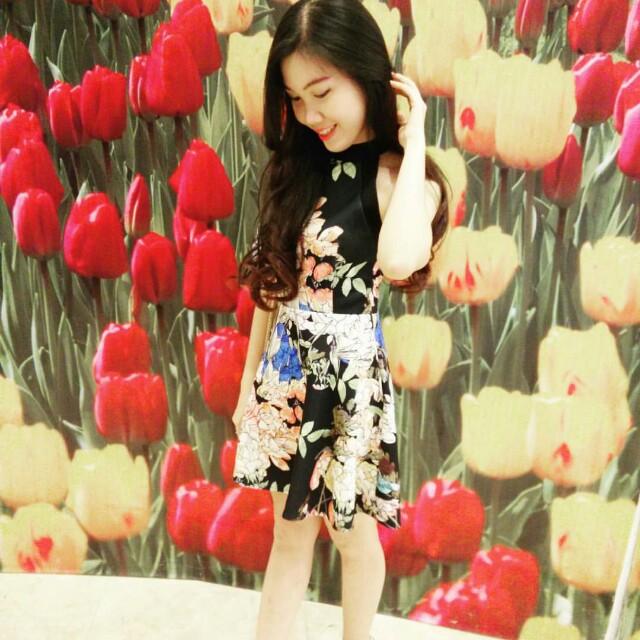 Floral dress premium