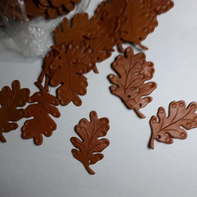 Genuine Leather Leaf for Crafting