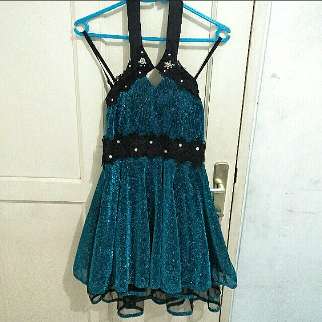 glamour party dress