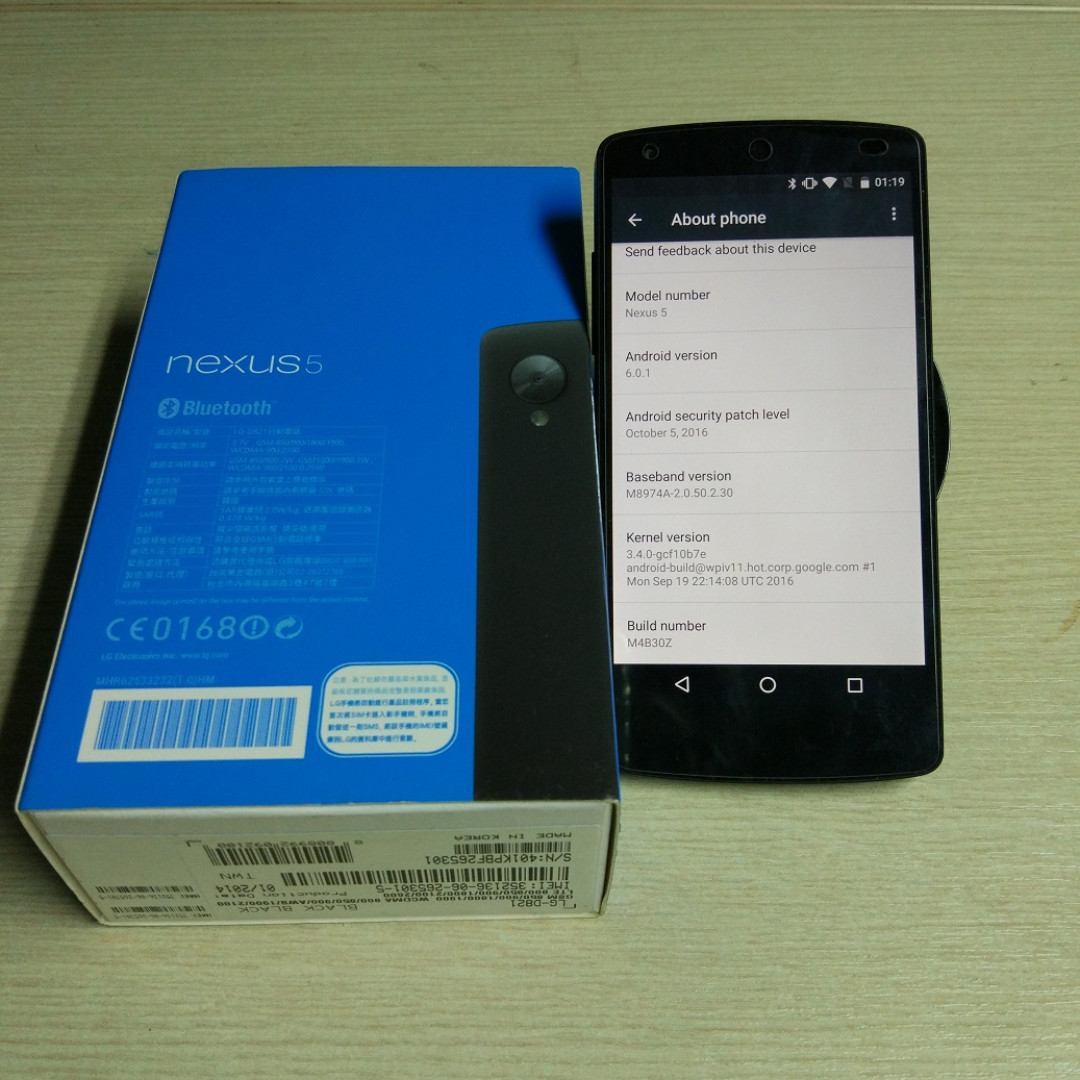 Google Nexus 5 黑