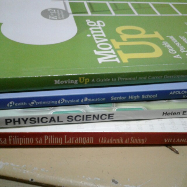 Grade 12- Senior Highschool Books