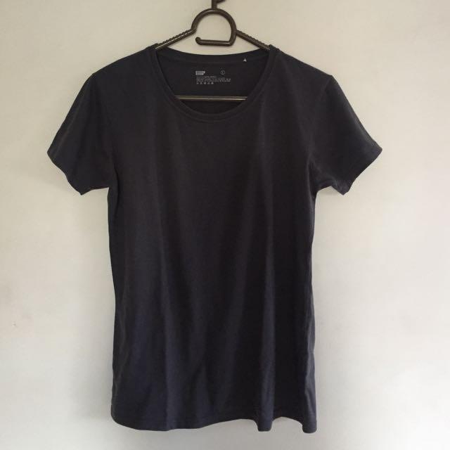 Gray bench shirt