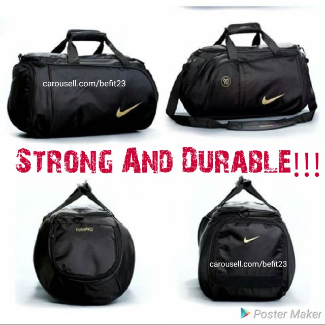 55cec7f41cda Gym Bag Nike Total 90 Sports Bag Duffle Bag