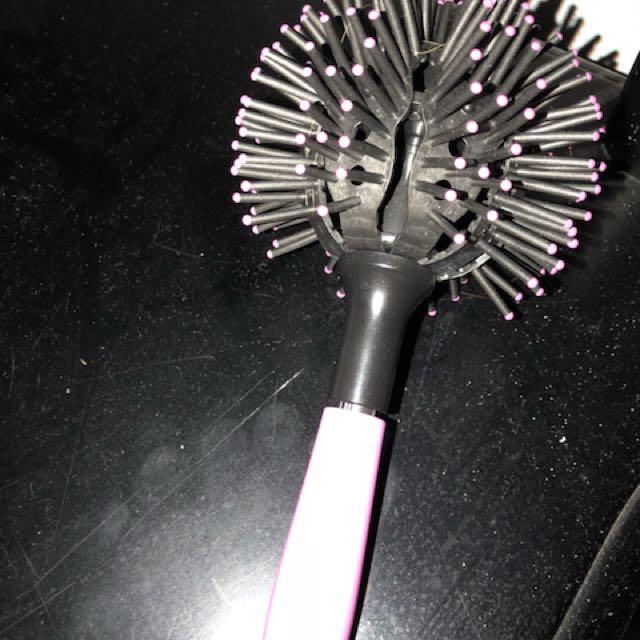 Hair curl comb