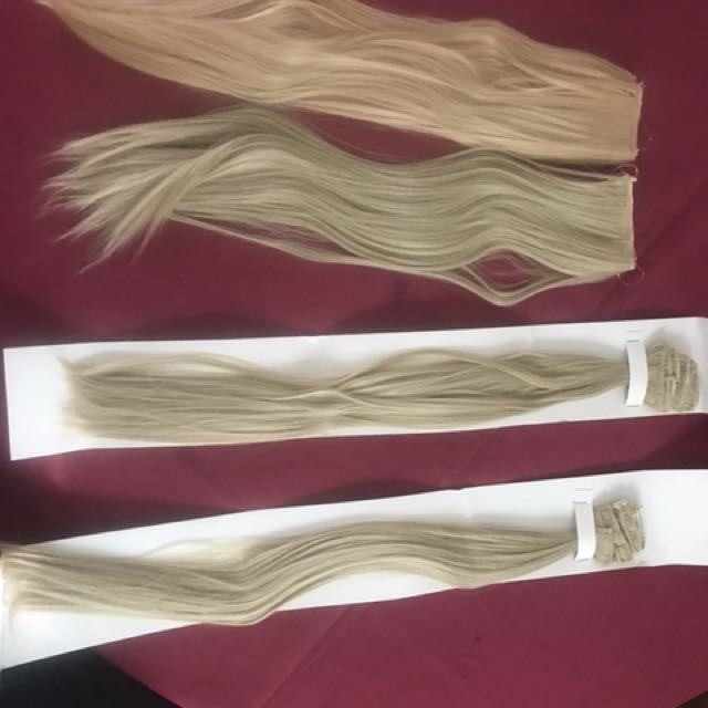 Halo and clip in Hair extensions