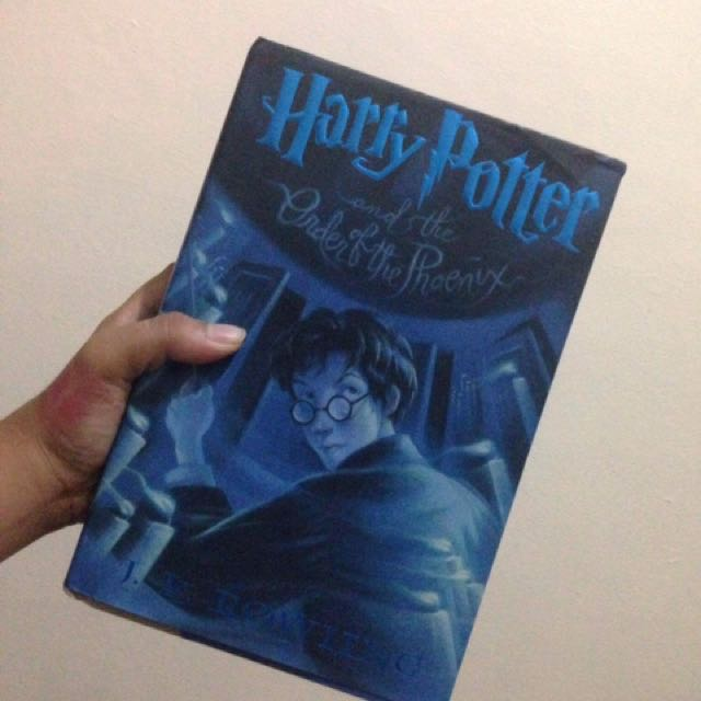 Harry Potter And The Order Of Phoenix (hardbound)