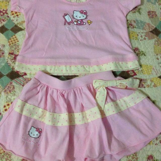 77c2bb2a3 Hello Kitty Terno, Babies & Kids, Babies Apparel on Carousell