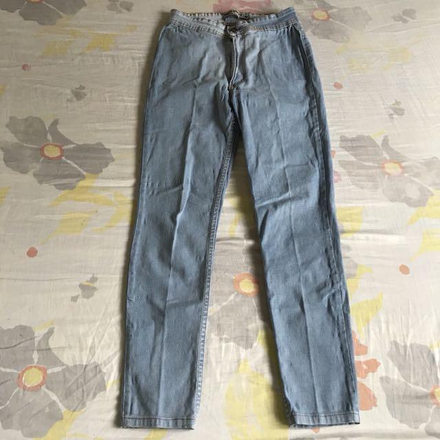 High Waist BKK Denim Pants