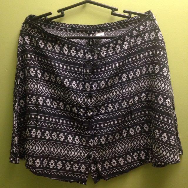 H&M Aztec Skirt