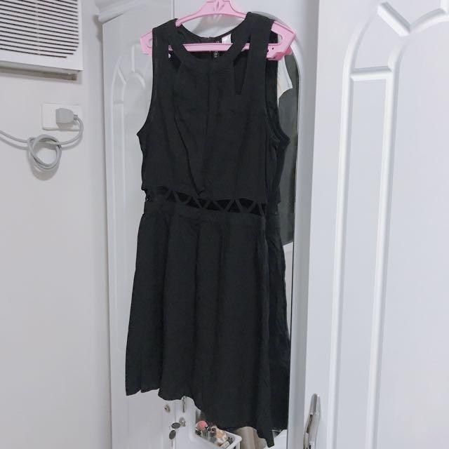 H&M sexy waist dress