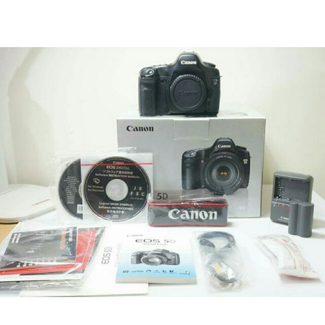 🔥HOT🔥Canon EOS 5D Body🌟Full Frame🌟