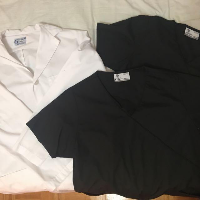 Humber lab coat & scrubs