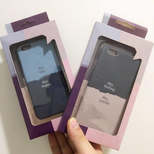 I phone 6  手機殼 [兩個]