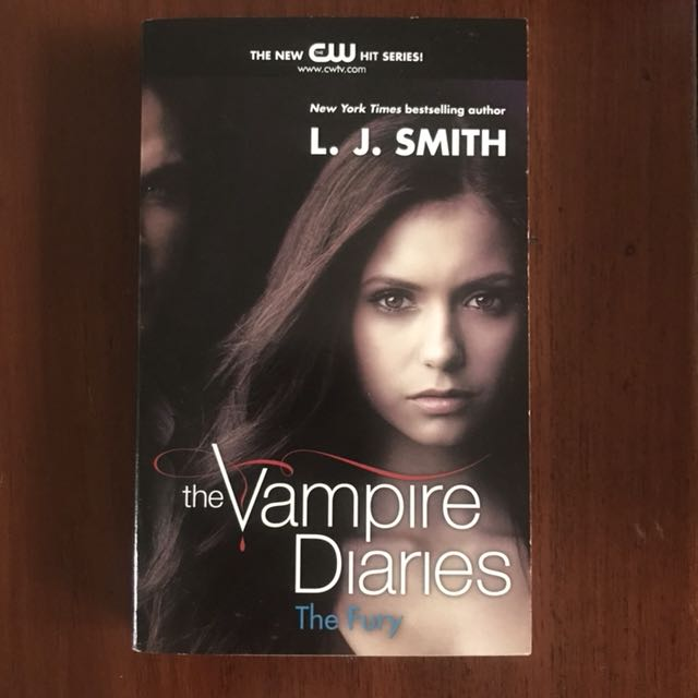 Import Book: The Vampire Diaries - The Fury