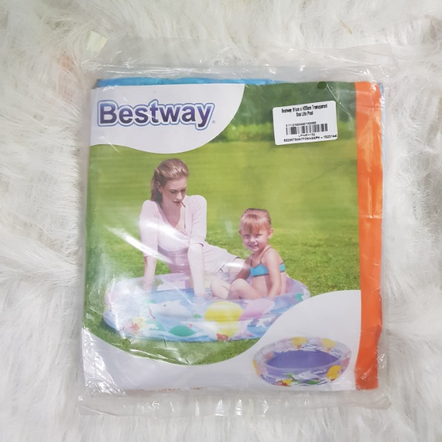 Inflatable pool for baby