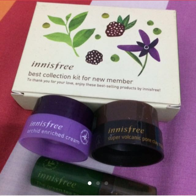 Innisfree trial kit