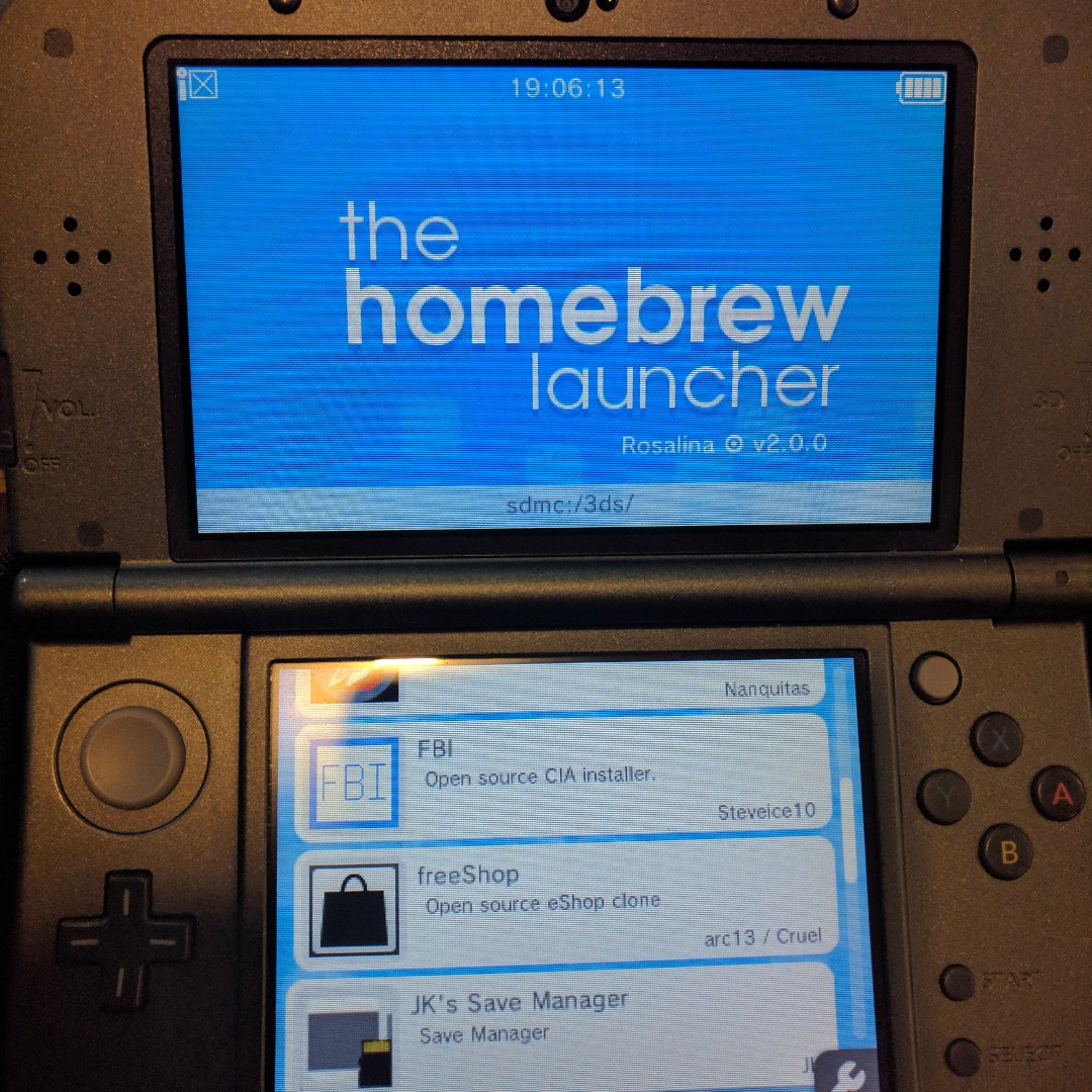 Install Luma3DS cfw, Freeshop on your 3DS/2DS - Mod service